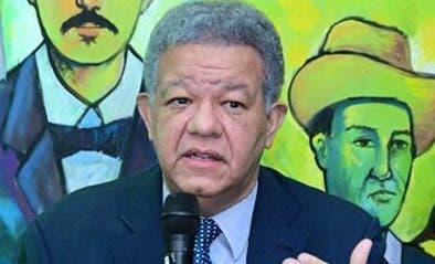 Leonel Fernández afirma Fuerza del Pueblo no podría apoyar Reforma Fiscal en este momento