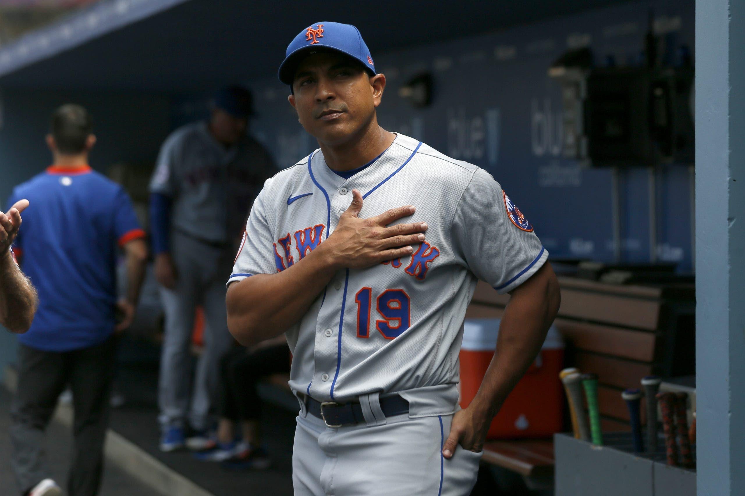 El dominicano Luis Rojas deja de ser piloto de los Mets al no avanzar a Postemporada