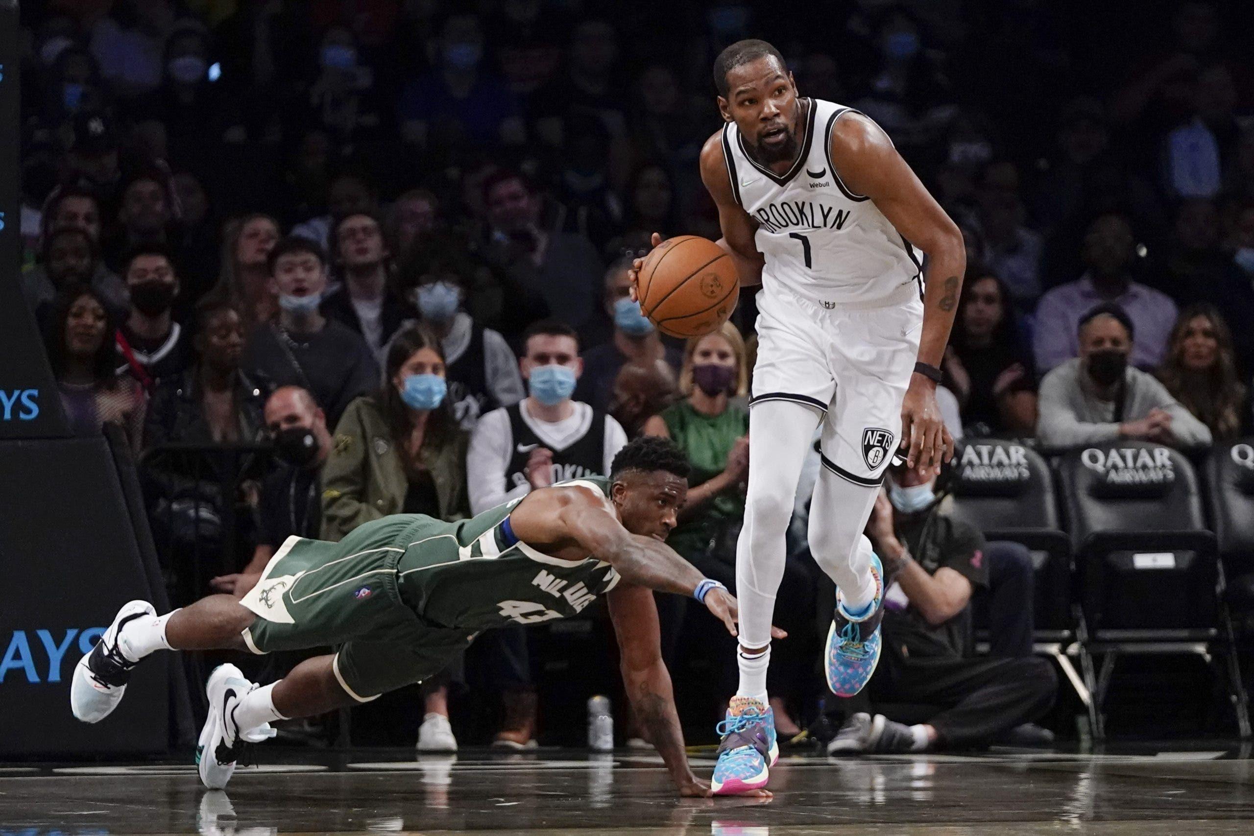 Con Kevin Durant a tope, Nets podrían llegar al fin a lo más alto