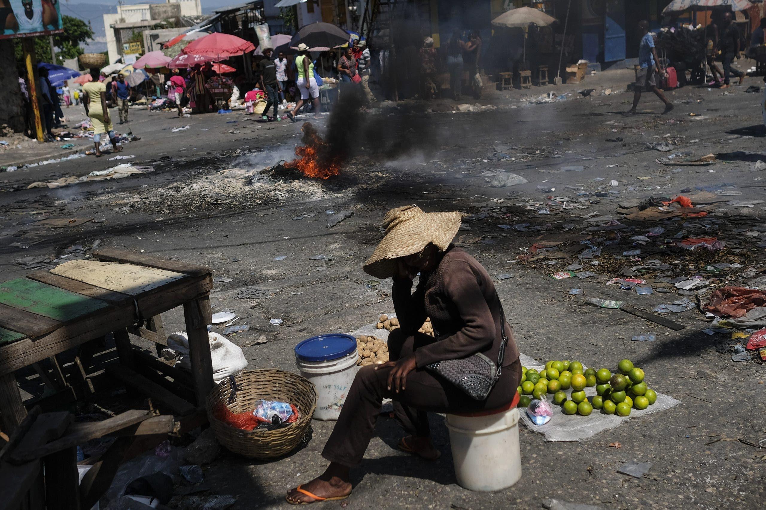 Una huelga paraliza Haití en plena crisis de falta de combustible y violencia