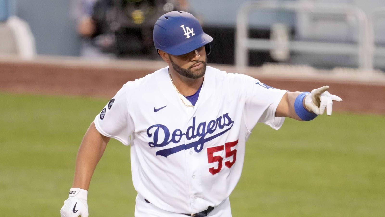 Pujols muestra su clase de líder y evita eliminación de los Dodgers