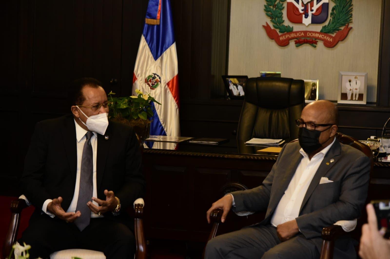 Pacheco y Marte Martínez acuerdan trabajar para reformar Ley de Drogas