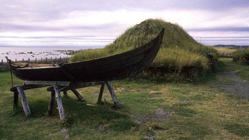 Los vikingos batieron a Colón por casi 500 años en la llegada a América, según un nuevo estudio