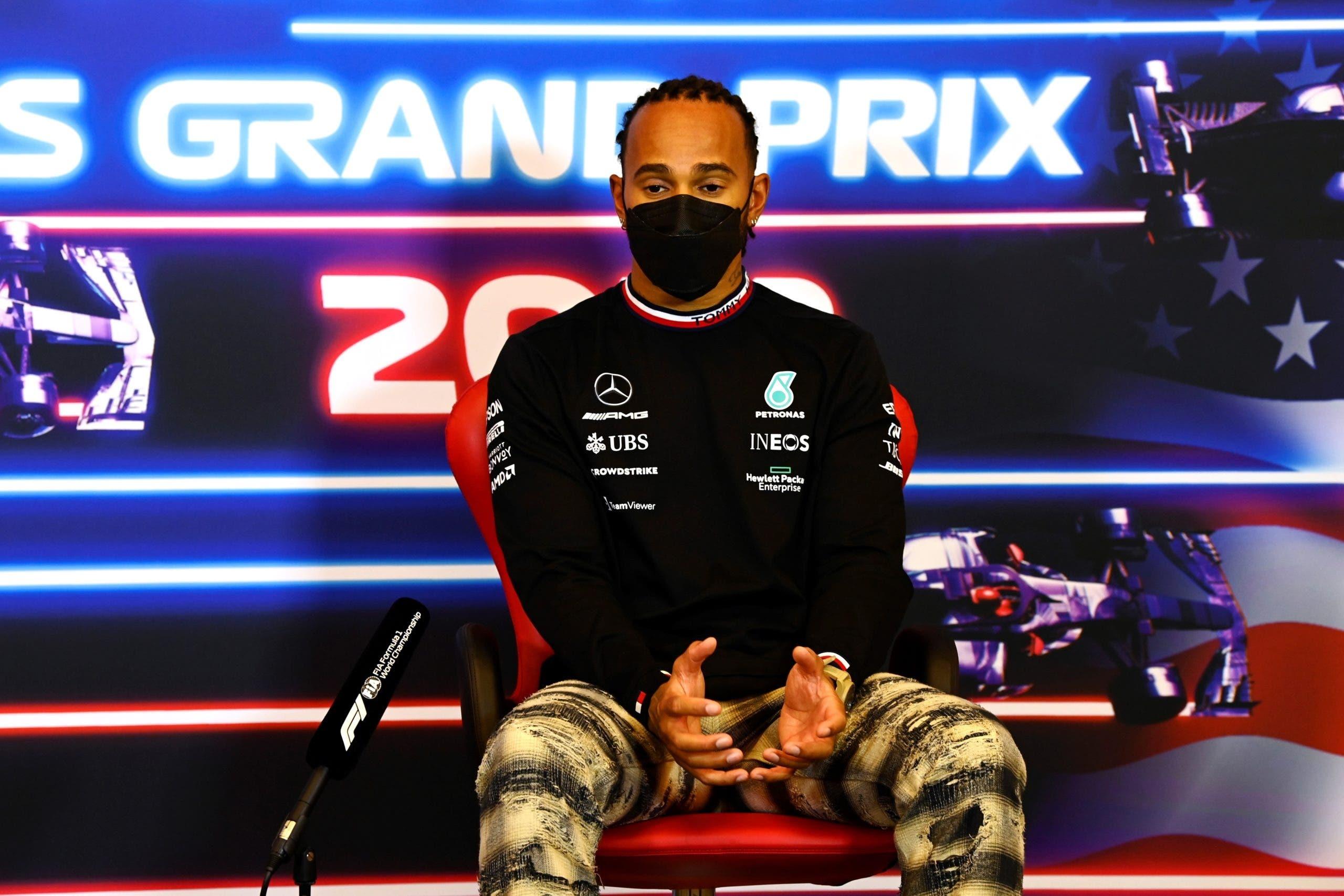"""Lewis Hamilton: """"Pueden pasar muchas cosas en estas seis carreras»"""