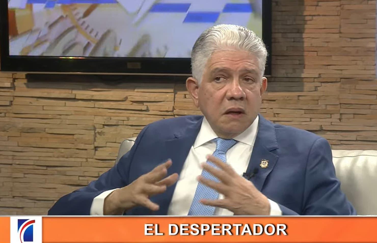 Eduardo Estrella: «No habría que pedir prestado, si se recuperara el dinero robado»