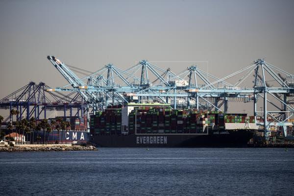 El Puerto de Los Ángeles operará 24/7 para aliviar problemas de suministro