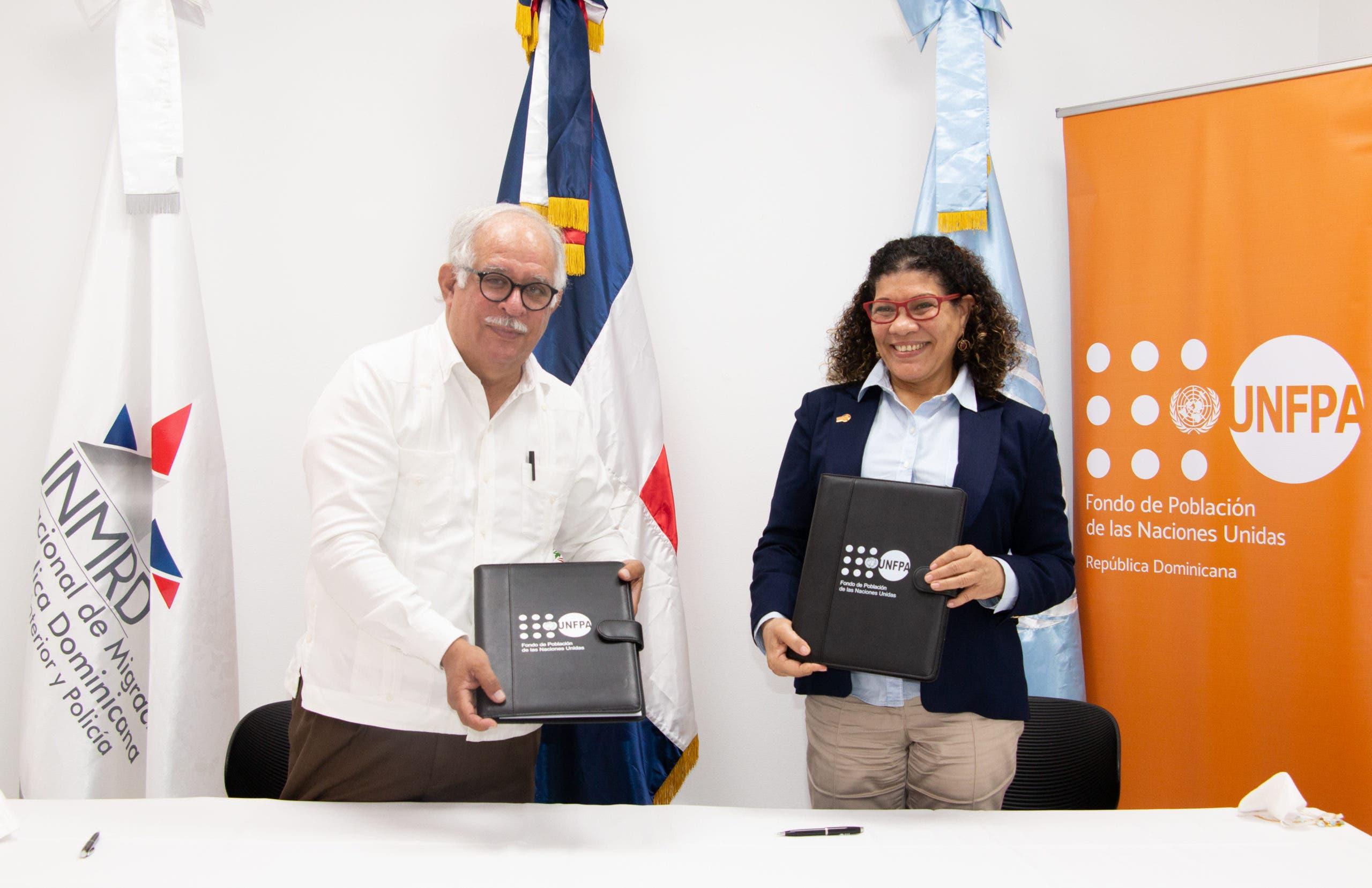 UNFPA y el Instituto Nacional de Migración aúnan esfuerzos para fortalecer capacitaciones y las investigaciones
