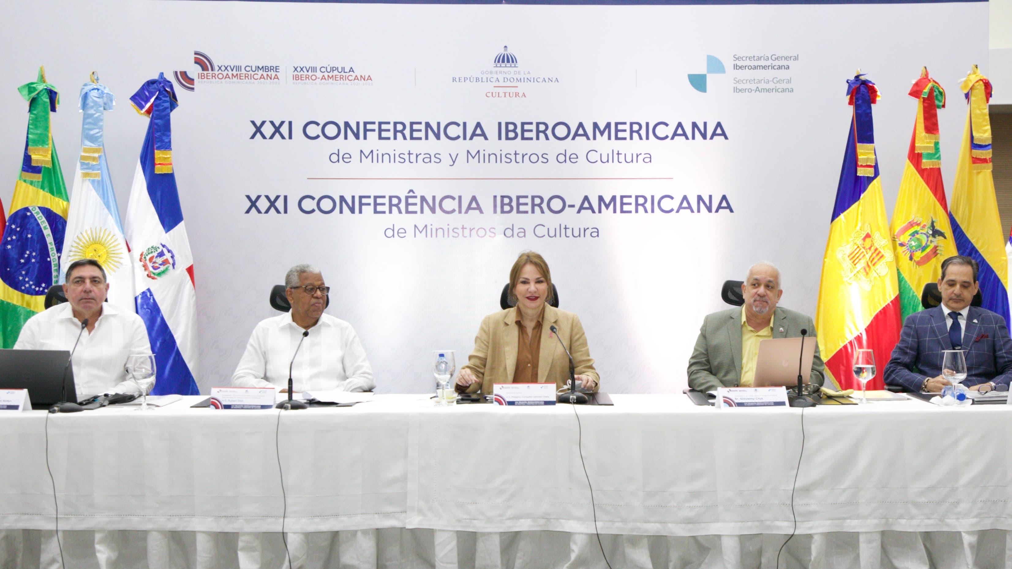 Ministras de Cultura de Iberoamérica acuerdan acciones para la recuperación del sector frente al COVID-19