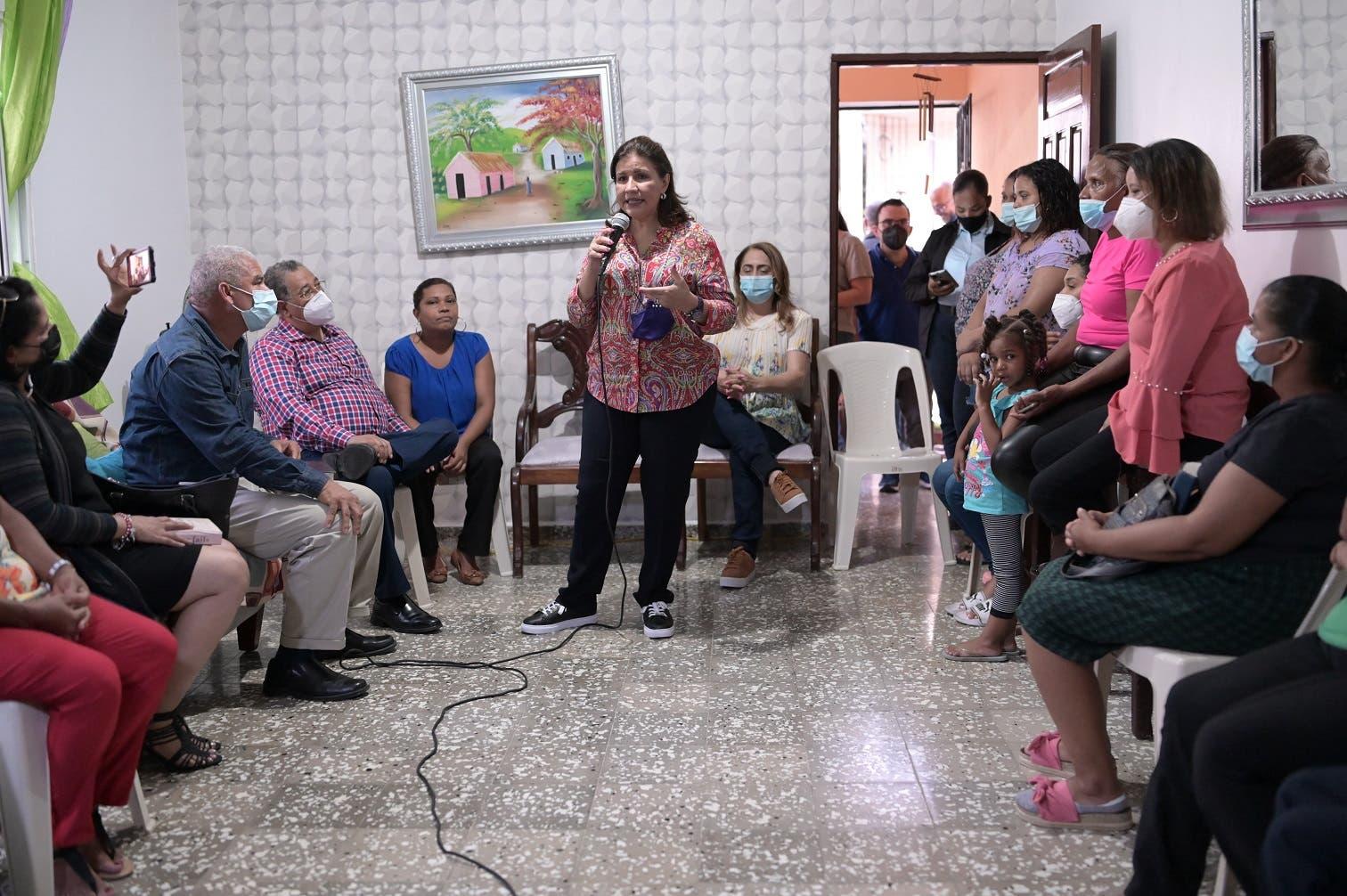 Margarita dice el gobierno le ha robado la esperanza y la alegría a los dominicanos