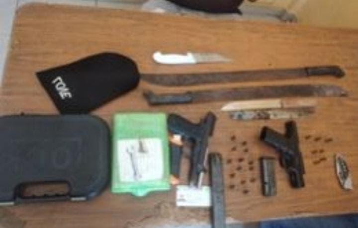 Policía ocupa armas, drogas y municiones durante operativo en todo el país