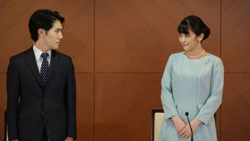 La princesa Mako de Japón se casa con su novio plebeyo