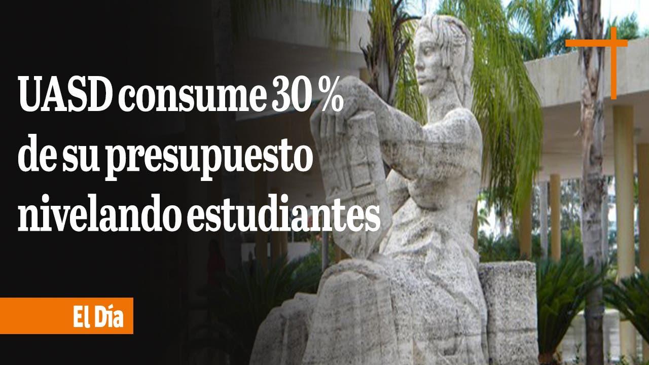 UASD consume 30 % de su presupuesto nivelando estudiantes