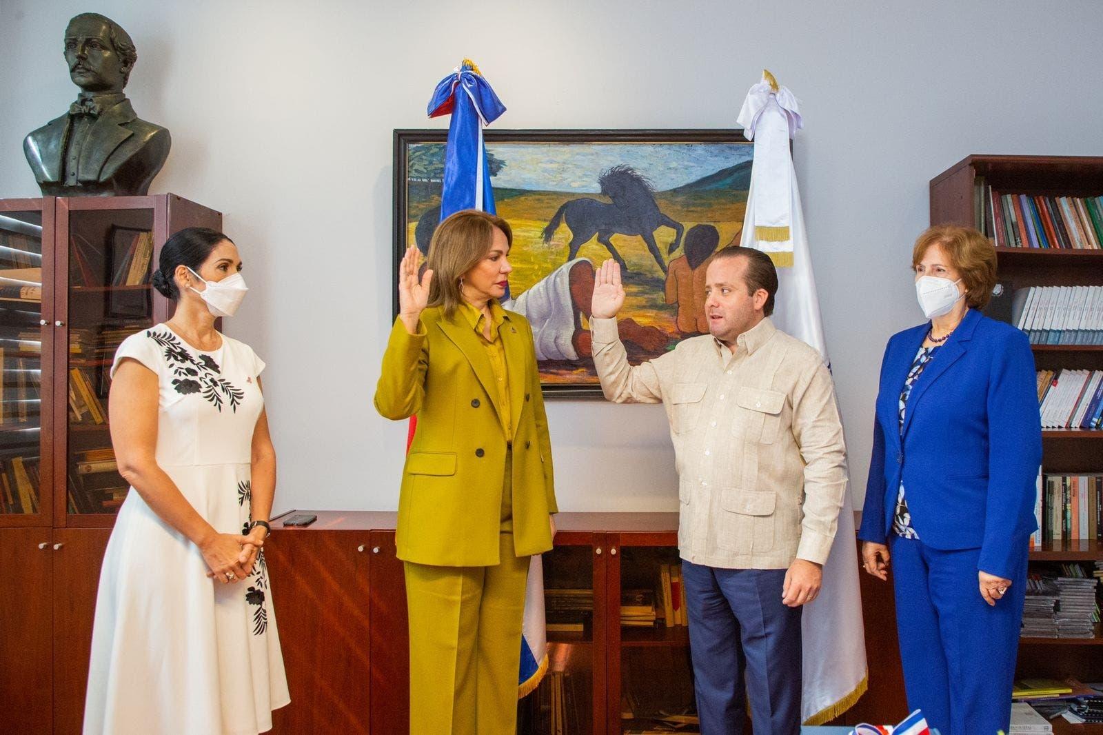 Milagros Germán toma posesión como nueva ministra de Cultura