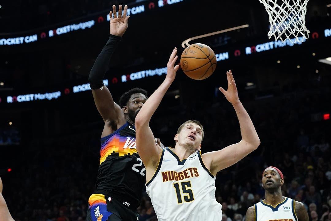 Nikola Jokic anota 27 puntos, Nuggets derrotan a Suns 110-98