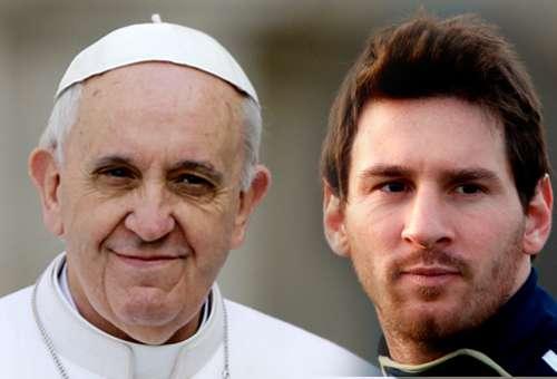 """El Papa Francisco destaca que a Messi nunca se le subieron """"los humos a la cabeza»"""