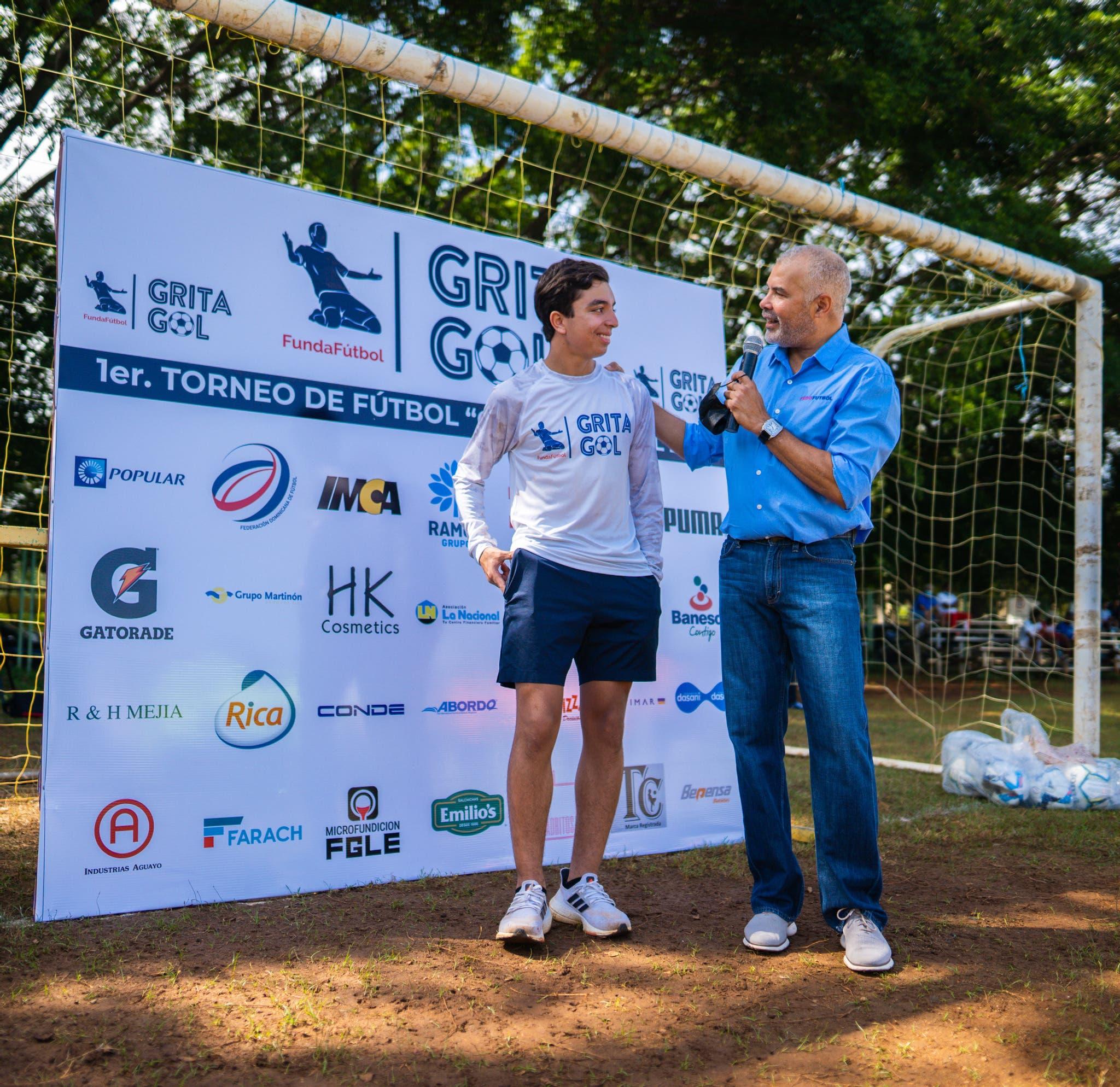 Fedofútbol pondera labor social de la Fundación Grita Gol