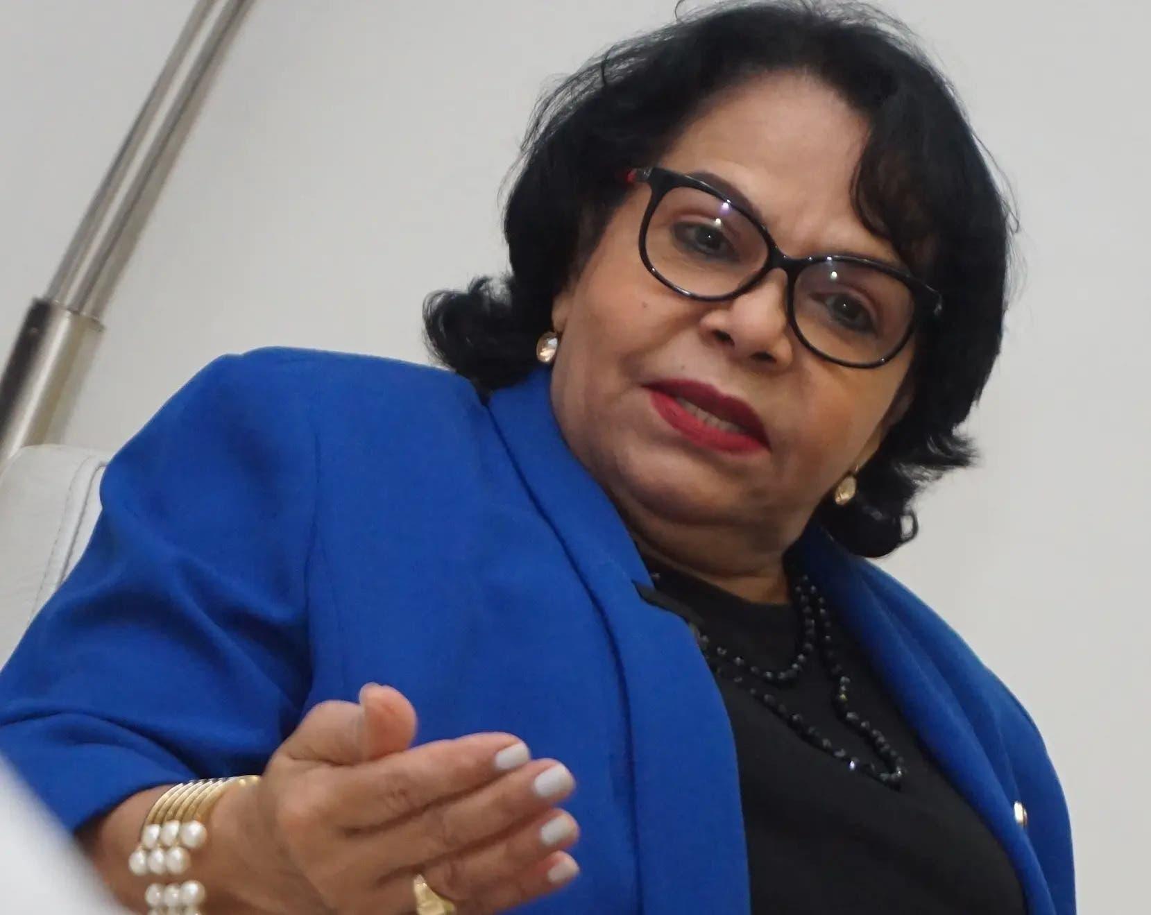 """Rectora de la UASD defiende su gestión diciendo que """"la UASD hoy es otra"""""""