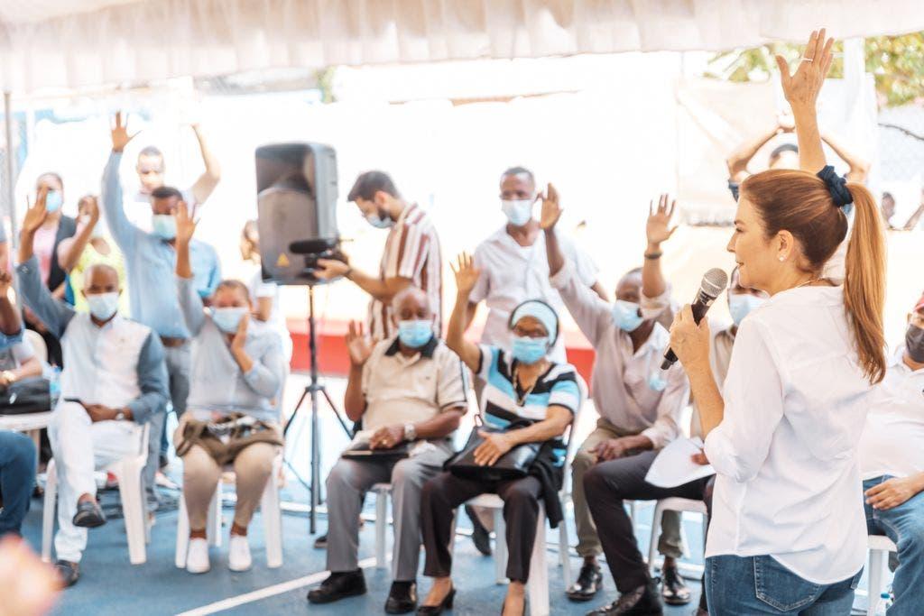 ADN construirá biblioteca y remozará parque La Chorrera en Manganagua