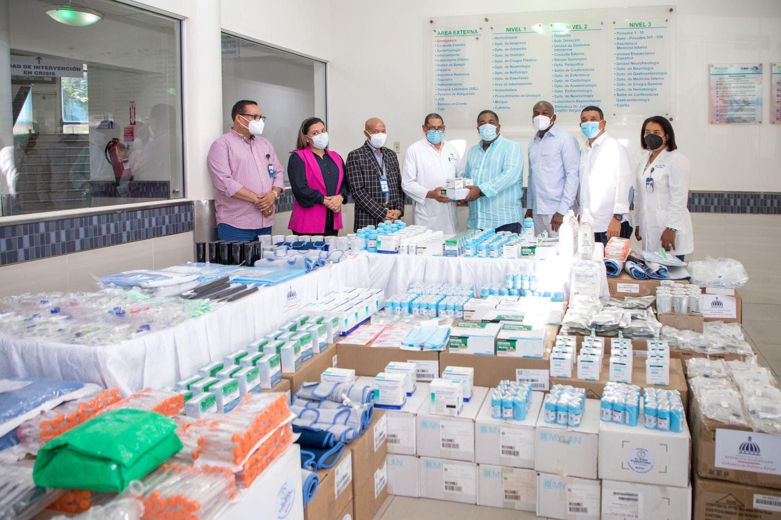 Gabinete de Política Social entrega más de RD$20 millones en medicamentos a hospitales en Santo Domingo y San Cristóbal