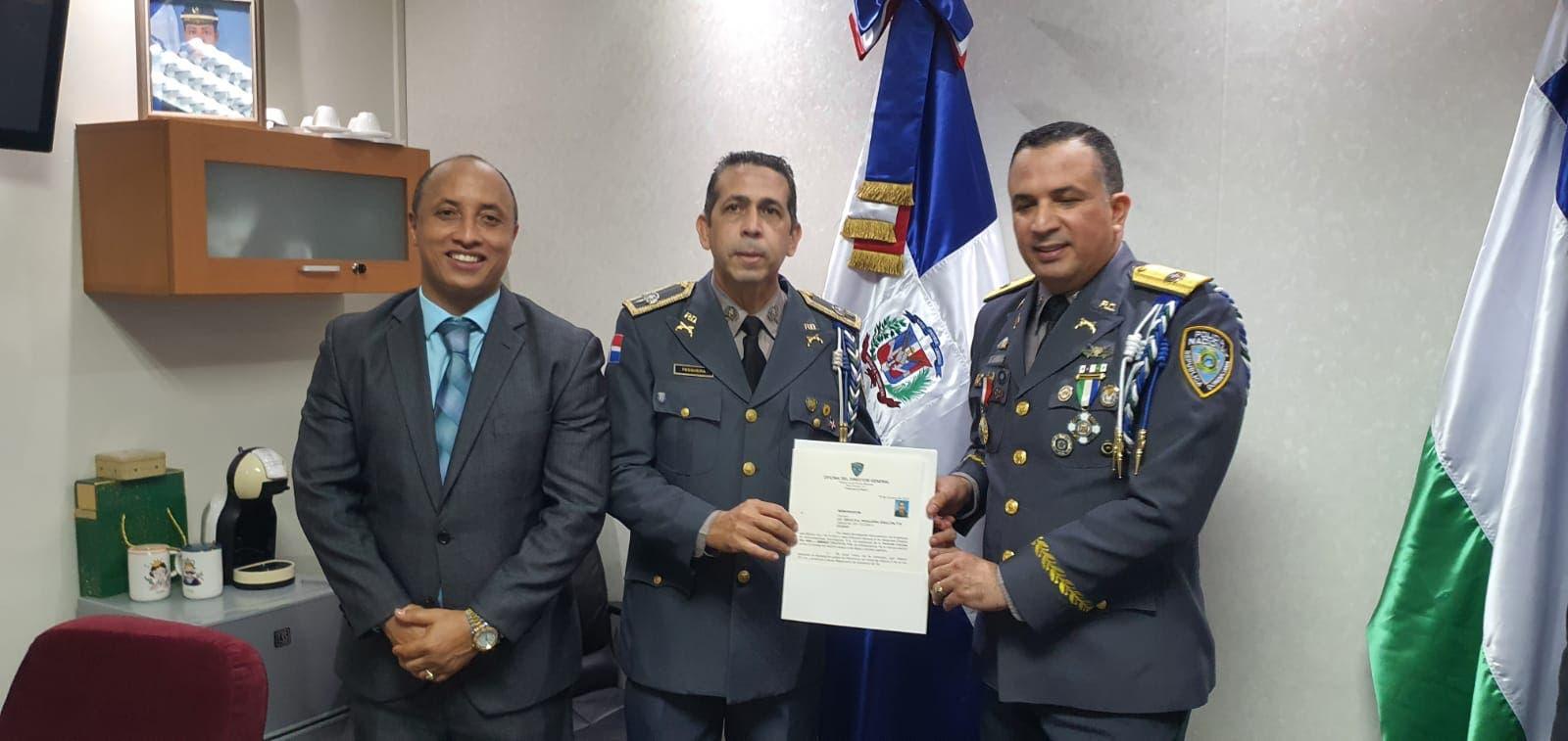 Designan a Diego Pesqueira vocero de la Policía Nacional
