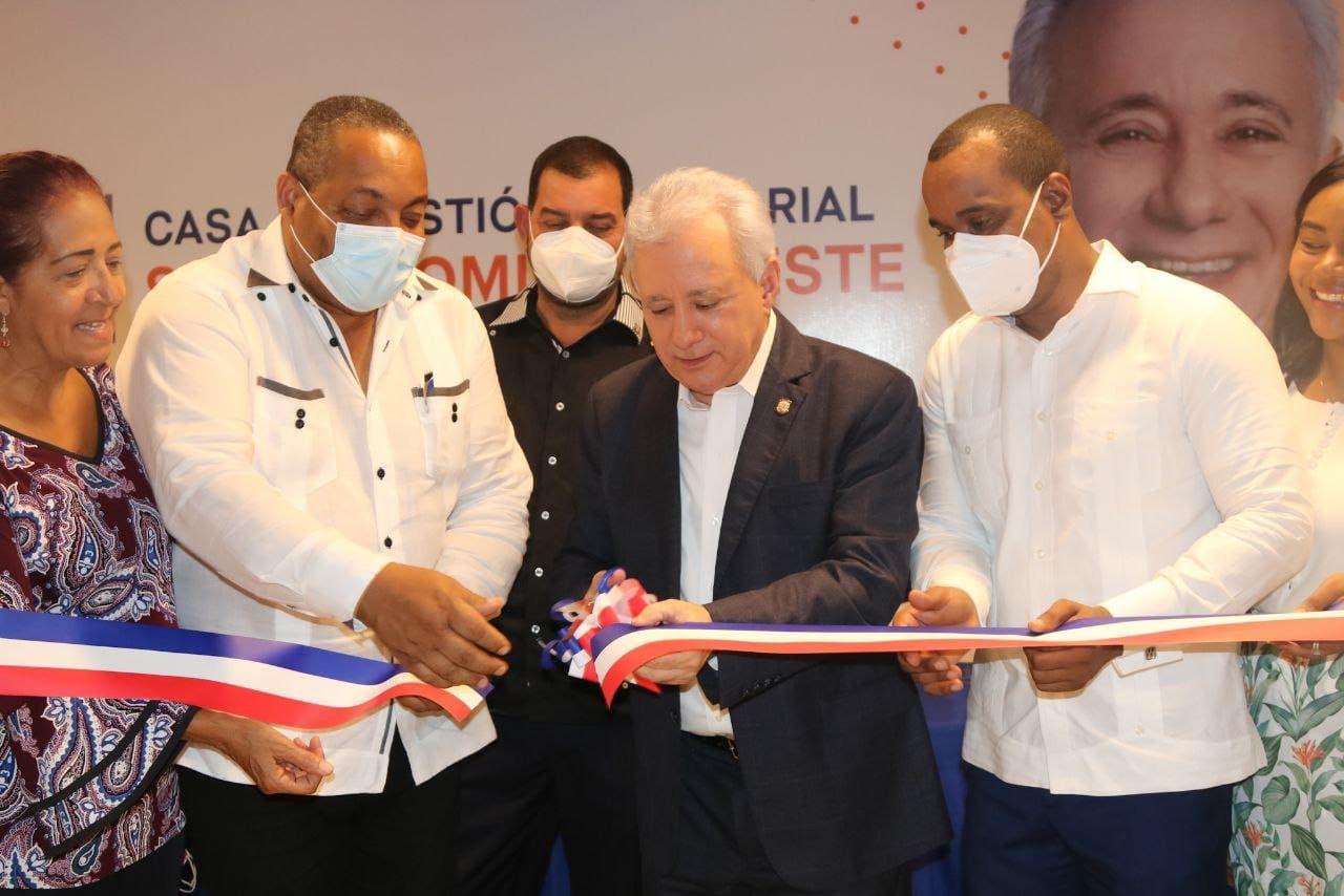 Senador Antonio Taveras inaugura Oficina Senatorial en Santo Domingo Oeste