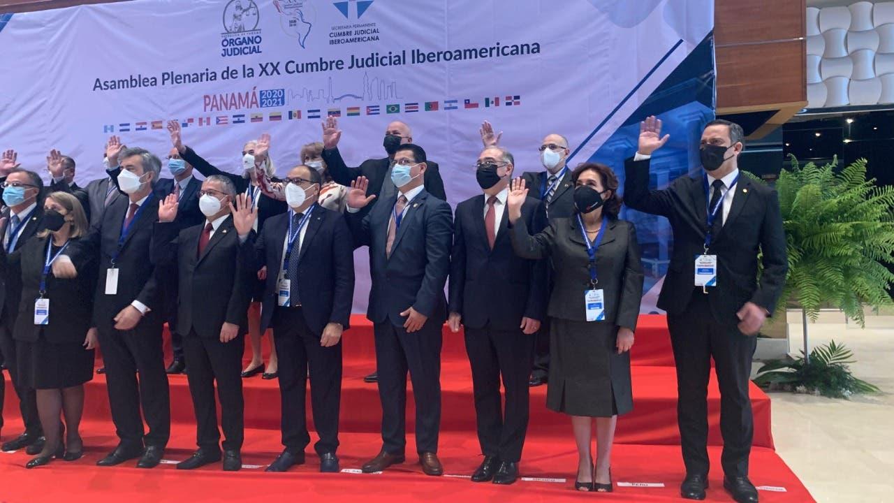 Poder Judicial Dominicano participa en XX Edición de la Cumbre Judicial Iberoamericana