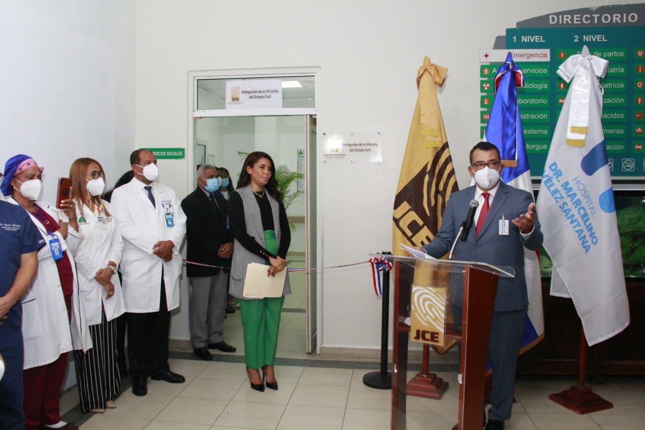 """JCE inaugura """"Delegación del Estado Civil en Hospital Marcelino Vélez"""