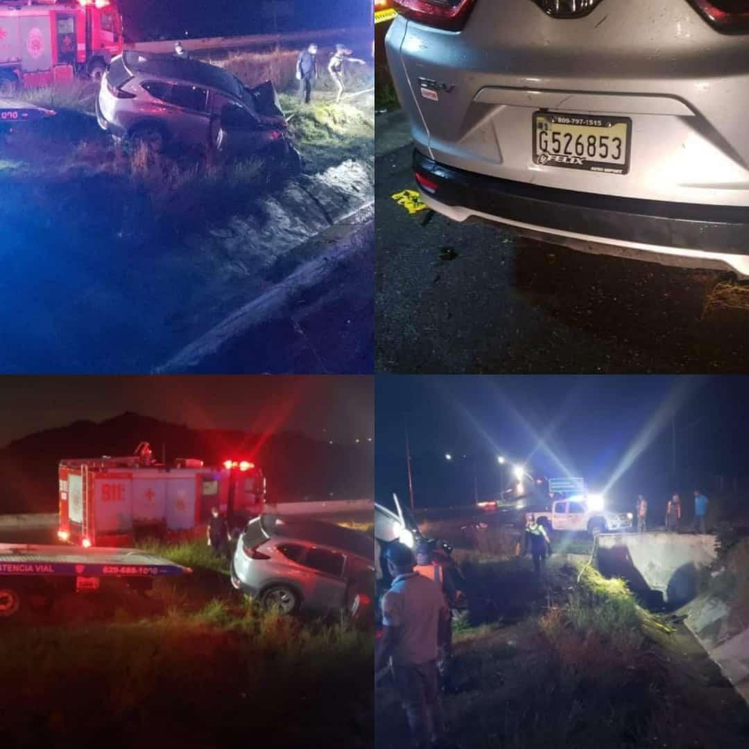Accidente deja tres muertos y un herido en Circunvalación de SD