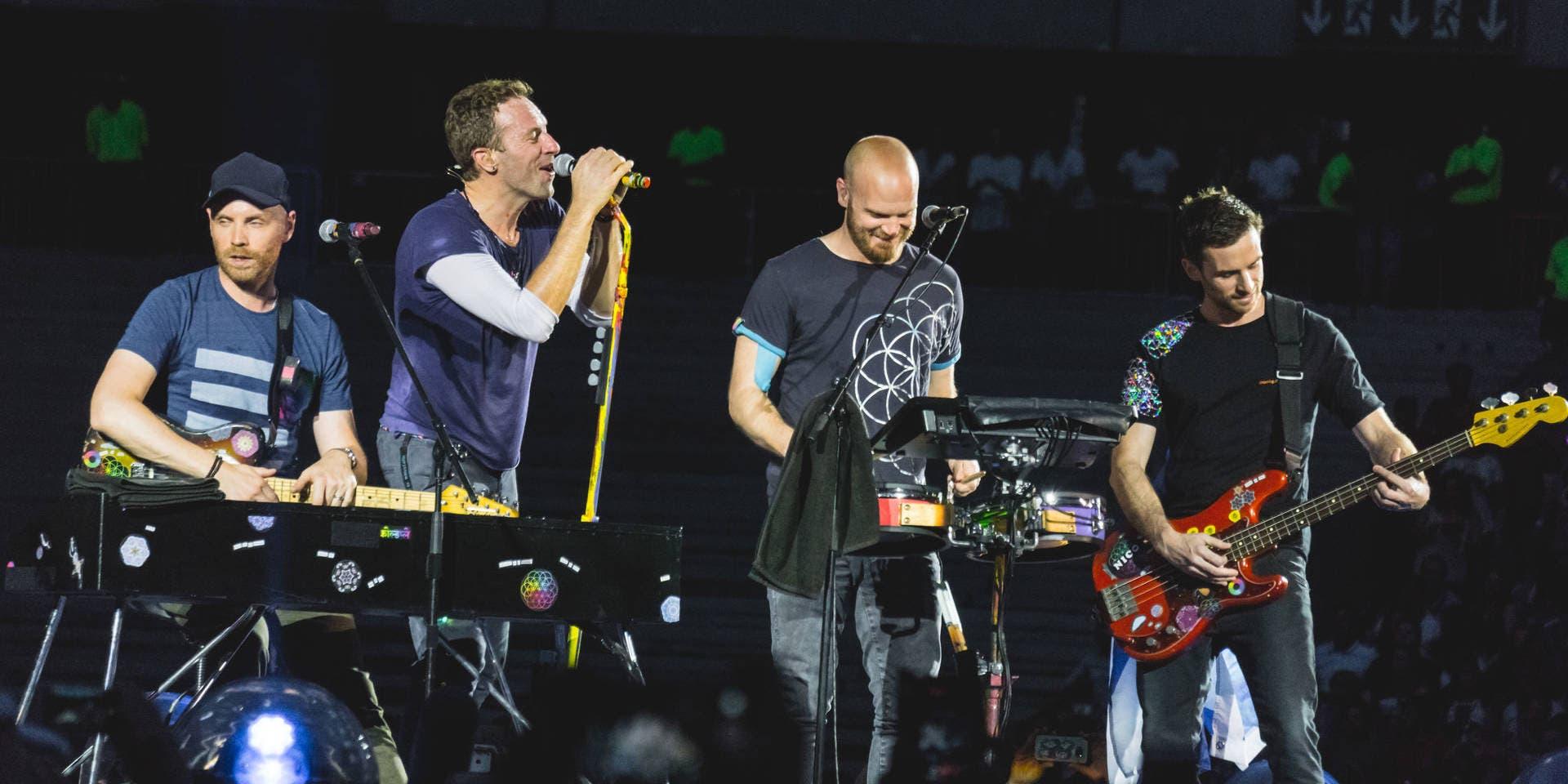 Banda Coldplay estará de gira por República Dominicana