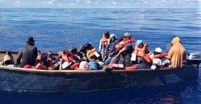 Detienen a 4 dominicanos por ingreso ilegal de 43 haitianos en Puerto Rico