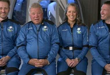 Star Trek: William Shatner, el capitán Kirk, cumple a los 90 años su sueño de ir al espacio