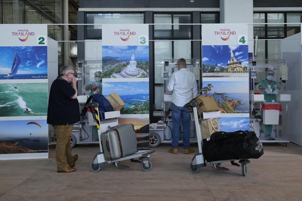 Tailandia planea eliminar cuarentena para algunos viajeros