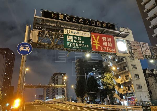 Al menos 32 heridos tras el terremoto de 5,9 en Japón